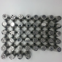 cake decorating tools - 44pcs Russian Tulip Nozzle Perfect For Cake Cupcake Decorating Icing Piping Nozzles Russian Rose Nozzles Tips Cooking Cake tools
