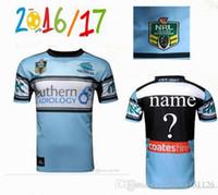 australia customs - best Thai quality Cronulla Sharks rugby jerseys Zealand NRL Australia league rugby jerseys shirts Size S XXXL Free Custom
