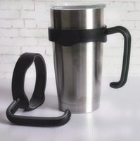 Wholesale Portable oz Car Cups Holder Nonslip PP TPR Cups Handle for Oz Rambler Tumbler Handle Fit For oz Cup Mugs