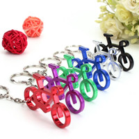 bicycle wine - New Arrive Novelty Bike Bicycle Keychain Keyring Bottle Wine Beer Opener Tool Colors