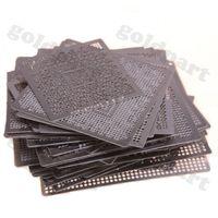 ati settings - 110pcs Graphics Card Directly Heat BGA Reballing Stencils Template Set For ATI NV XBOX PS3 Chip Rework Repair
