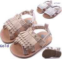 baby girl sandals - Baby Girls sandals Baby Gold Silver Tassel Girl Shoes Chaussure Fille Baby First Walk Shoes Kid Shoes Toddler Baby Sandals Moccasins