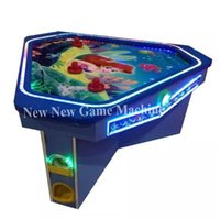 arcade machine table - 2016 The Latest Indoor Amusement Center Equipment Arcade Coin Operated Game Machine Person People Adults Kids Air Hockey Table