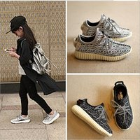 Wholesale 2016 NEW Boys Girls Shoes Ye zzy Fashion Shoes Hot Selling Children s Fashion Shoes Running Shoes Cheap Baby Kids Ye zzy Boost