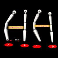 Wholesale Male Stainless Steel Penis Urinary Plug Urethra Catheter Sex Toy Adult Game Urethra Stimulate Dilator Urethra Beads