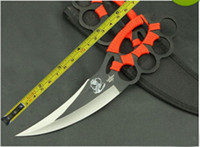 Wholesale Handmade Custom Forged High Carbob Steel Rope Handle Sharp Jungle Survival Fixed Hunting Knife Tactical Survival Hunting Bowie Blade