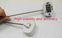 Wholesale High Quality Digital Cooking Food Probe Meat Household Thermometer Kitchen BBQ Buttons Household Orginal With Package NEW Free Shiipping