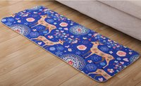 Wholesale HOT Printing and dyeing mat children cartoon with thick carpet mat kitchen bathroom hallway non slip mat