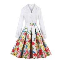 adults fashion overcoat - Vintage Fashion Women s Print Floral Denim Zip Trench Coat Outwear Long Jacket Overcoat Plus Size Dresses FS0492