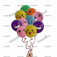 balloons heart - 2016 Poke Pikachu mon Go Balloons Mixed Balloons Latex Balloon Party Decorations Style Design Supplies Material Must Haves Kids In stock