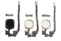 al por mayor 5s oro-Para el iPhone 5S 6S 6 más la asamblea casera de la cinta del cable de la flexión de la llave del hogar del botón para el oro blanco negro del iphone 5s 6 libera el envío