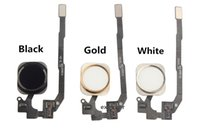 or 5s achat en gros de-Pour iPhone 5S 6S 6 plus Home Button Home Key Flex Cable Montage de ruban pour iphone 5s 6 Black White Gold Livraison gratuite