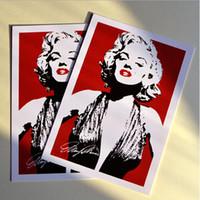 Wholesale illustration fantasias infantis Hollywood sexy star Marilyn Monroe message postcard Christmas card birthday greeting card papelaria criativa