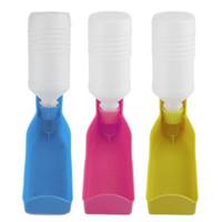 Wholesale Potable Pet Dog Cat Water Feeding Drink Bottle Dispenser Travel Sport Bowl Colors ml