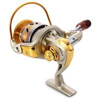 Precio de Bolas de rodamiento-Rodillo de la nueva de la llegada EF-5000 que hace girar el carrete de la pesca Rodillo de la carretilla 10-Ball de Carretilha Pesca del carrete 5.5: 1