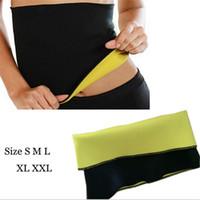 Wholesale Hot Shapers Weight Loss Waist Cincher Bodysuit Slimming Waist Shapers Belt Neoprene Body Cinchers Training Corsets Opp Bag