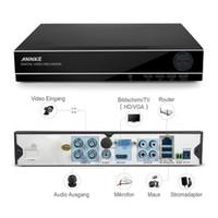Wholesale SANNCE CH CCTV System P DVR TVL P Security Camera IR Waterpfoof Outdoor CCTV home Video Surveillance Kits