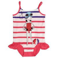 Wholesale Bikini Children Cute Natural color Swimsuit Solid Womnderful Good quality Soft Beautiful One piece Acrylic
