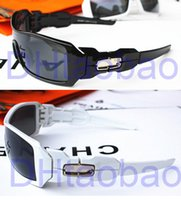 Wholesale cheap summer brand new Men riding sunglasses sports black withe frame Gray lens Sport sunglass woman Goggle Sunglasses A
