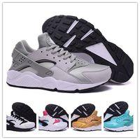 nike huarache - Original High quality Air huaraches triple black huarache men And women shoes For online hot sale size
