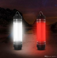 Wholesale Portable IP68 Waterproof Rechargeable LED Tent Camping Light Multi functional Outdoor Travel Emergency Power Bank Lantern Lamp