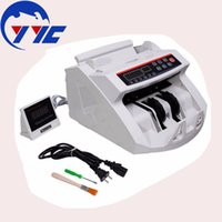 bank bill counter - New LCD Display Money Bill Counter Counting Machine Counterfeit Detector UV MG Cash Bank C0041