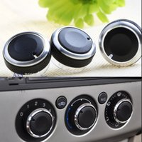 Cheap Hot Sale ! For Ford Focus 2   focus 3   Mondeo AC Knob Car 3PCS LOT Air Conditioning heat control Switch knob Car styling