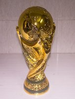 Wholesale 5KG New Arrival Marble Effect Soccer True Model Resin The Brazil World Cup Replica Football Trophy Cup Souvenirs
