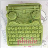 antique mold - Antique phone Shaped silicone Soap Mold Resin Clay Chocolate Candy Silicone Cake Mould Fondant Cake Decorating Tools