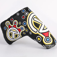 Wholesale New Popular Golf Clubs Headcover Top Quality PU Golf Putter Headcover with color in choice Golf equipment
