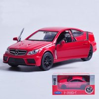 best mercedes model - 1pc High Quality WELLY Mercedes SL Diecast Vehicles Model Car Pull Back Toys for Collection Best Gift