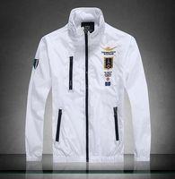 air force crew - Men Jaquetas Coats Air Force One Jacket Men s Outerwear AERONAUTICA Militare Coat Fashion Polo Jackets