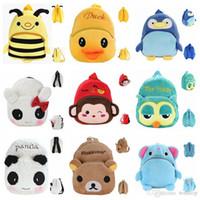 Cheap Backpacks kids plush backpack Best D88 Unisex animal School Bags