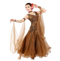 Wholesale Women Modern Waltz Tango Ballroom Dance Dress Smooth Ballroom Dress Standard Ballroom Dress WDB006