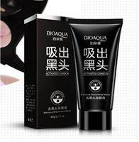 beauty face masks - Hot Sale Face Beauty Care Suction BIOAQUA Facial Mask Blackhead Remover Peeling Black Head Acne Mud Mask