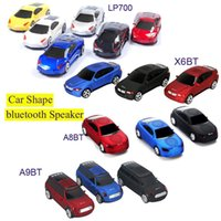 2 Universal MP3 Speaker Cool Bluetooth speaker Top Quality Car Shape Wireless bluetooth Speaker Portable Loudspeakers Sound Box for iPhone Computer MIS131
