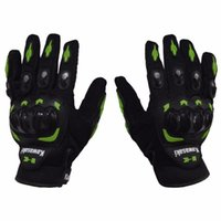 Wholesale 1 Pair Kawasaki Full Finger Guantes Motorcycle Gloves Motorbike Luva Moto Motocicleta Motocross Guantes Gloves M L XL XXL