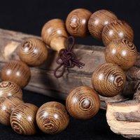Cheap African wenge hand string Golden sandalwood bracelet beads wooden model of 108 men and women