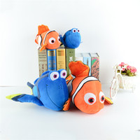 Wholesale 8 inch Finding Dory plush toys cartoon Finding Nemo Stuffed Animals cm nemo dory super soft doll good quality EMS shipping