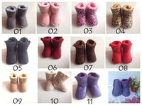 baby walkers sale - Hot sale GG Infant boys girls toddler baby boots shoes UK infant snow boots Boys Girl First Walkers Shoes Warm Winter Snow Shoes