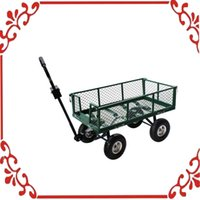 Wholesale Lawn Heavy Duty Wheelbarrow Trailer Steel Cart Yard Garden Utility Wagon Dump