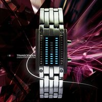 accutron quartz watch - 2016 HBY new arrival high quality LED fashion man accutron electronic wrist watch from china