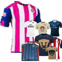 Wholesale DHL Mixed buy Chivas Guadalajara soccer jerseys thai quality Chivas Guadalajara home away shirt BRAVO REYNA soccer football Jersey
