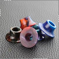 arts electronics - Epoxy Resin Coilart Mage Drip Tips Epoxide Resin Drip Tip for Coil Art Mage RTA Atomizer Mouthpiece Electronic Cigarette DHL Free