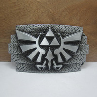 antique pewter finish - BuckleHome the Legend of Zelda belt buckle colors available with pewter and antique brass finish with continous stock
