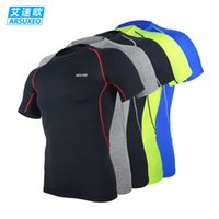 athletic training services - Breathable Tee Shirt Quick drying Sports Running Fitness Basketball Athletic Training Services Short sleeve Cycling T shirt LC51