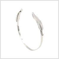 beauty bangle bracelets - GBJewelry Silver Plate Simple Beauty Cuff Bracelet Factory High Quality Free Ship