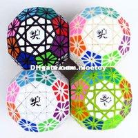 Precio de Dayan juguete-Nuevo cubo Dayan Gem Cube VI Cubo mágico blanco y negro y cerebro IQ Primaria Juguetes Educativos