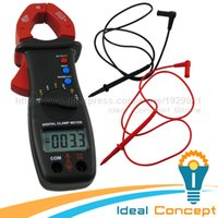 Wholesale Clamp Meter DC AC Voltage Current Resistance Diode Multimeter mm Jaw Opening