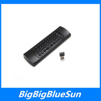 Wholesale MX3 X8 Mini Wireless Keyboard MX3 Air Mouse Remote IR Learning Axis For MXQ Pro M8S Plus T95 Android TV BOX
